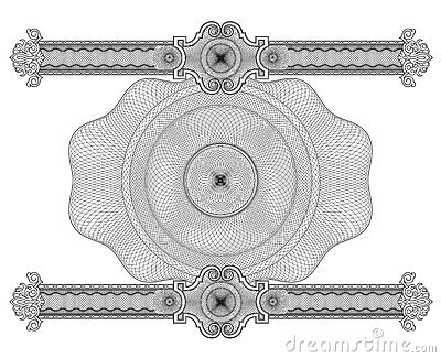 Rosettes design elements vector