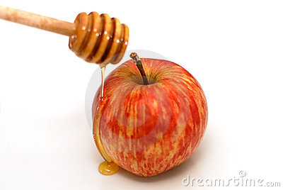 Rosh Hashanah Traditional Apple and Honey
