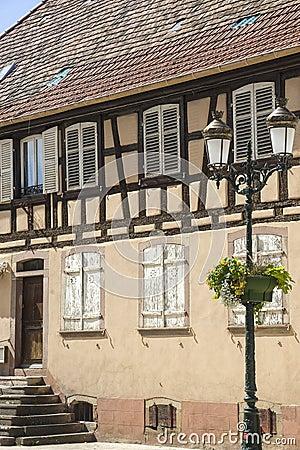 Rosheim (Эльзас) - дом