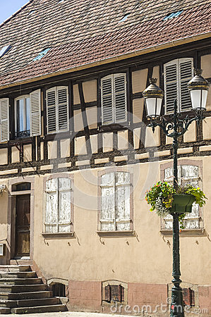 Rosheim (Alsácia) - casa