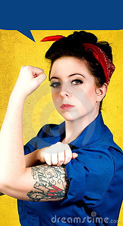 Free Rosie The Riveter Stock Photography - 15542512