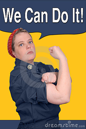 Free Rosie The Riveter Royalty Free Stock Images - 2031979