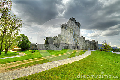 Ross Castle near Killarney in Co. Kerry