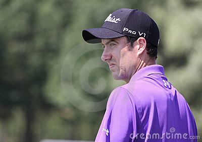Ross fisher at golf French Open 2010 Editorial Photography