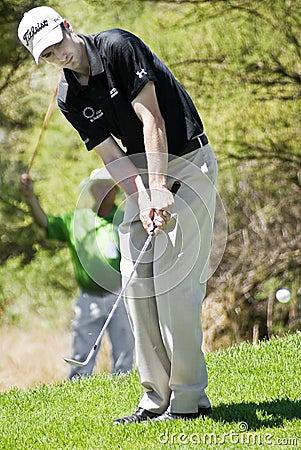 Ross Fisher - saltando adentro - NGC2010 Foto editorial