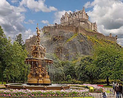Ross Fountain Edinburgh