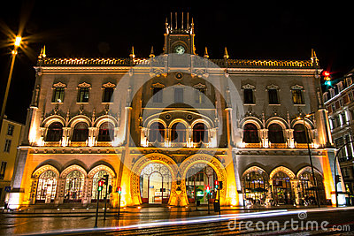 Rossio Station, Lisbon, Portugal