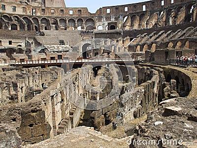 Rostrum of the colosseum