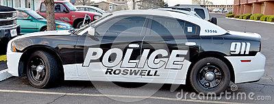 roswell police department car editorial image image 61867425. Black Bedroom Furniture Sets. Home Design Ideas