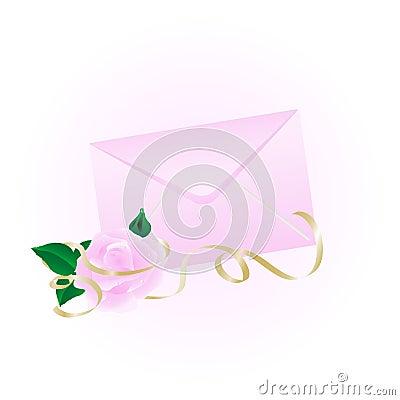 Free Rosy Envelope Royalty Free Stock Photo - 7301005