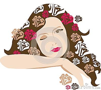 Rosy girl