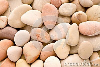 Rosy pebbles