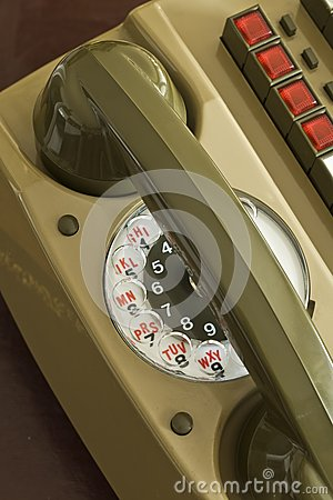 Rotary dial Intercom