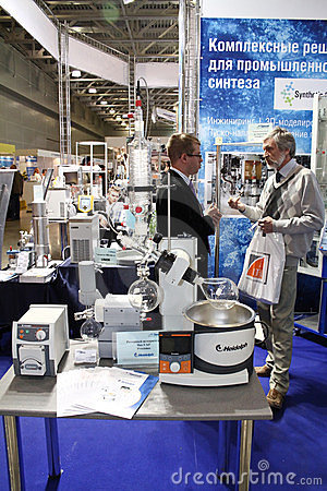 Rotary evaporator Heidolph Editorial Image