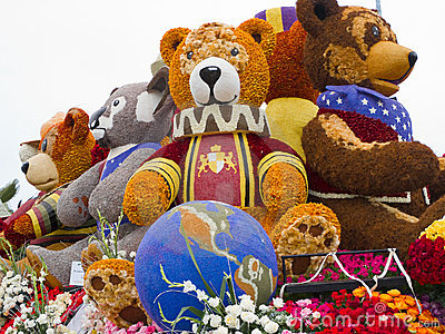 Rotary Rose Parade Committee Float Editorial Image