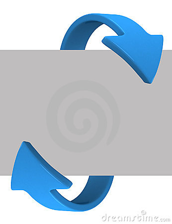 Rotate the blue arrow