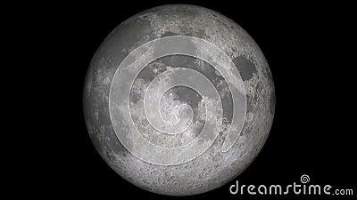 Rotation de lune de planète clips vidéos