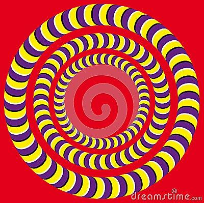 Free Rotation (Optical Illusion) Stock Image - 27113431