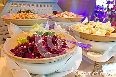 Rote-Bete-Wurzeln Salat