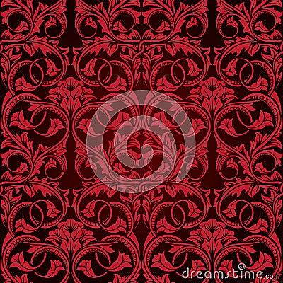 Rote nahtlose tapete stockbild bild 12167091 for Rote tapete