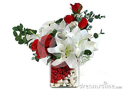frauen prono haus rote rose
