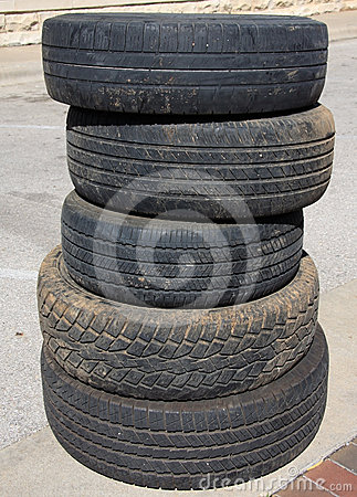 Rotelle di automobile utilizzata