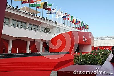 Roter Teppich Redaktionelles Stockbild