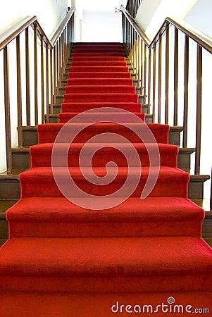roter teppich treppe lizenzfreie stockbilder bild 6764429. Black Bedroom Furniture Sets. Home Design Ideas