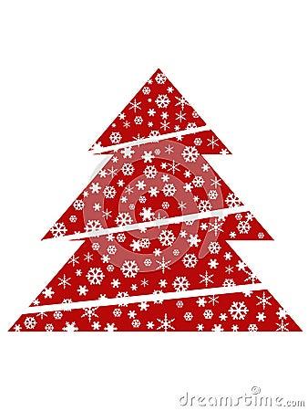 roter weihnachtsbaum lizenzfreie stockbilder bild 1461259