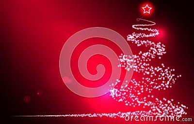 Roter Weihnachtshintergrund