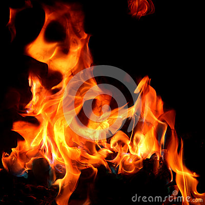 rotes feuer und flamme stockfotos bild 38025373. Black Bedroom Furniture Sets. Home Design Ideas