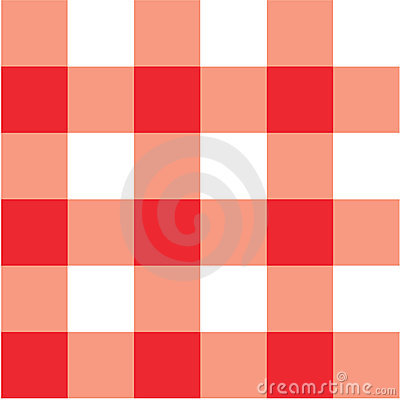 Rotes Picknicktabellentuchplaid