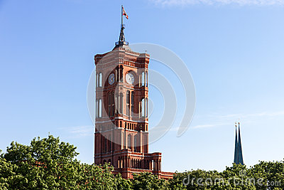 Rotes Rathaus - Berlin s city hall