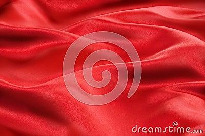 Rotes Satin-Gewebe