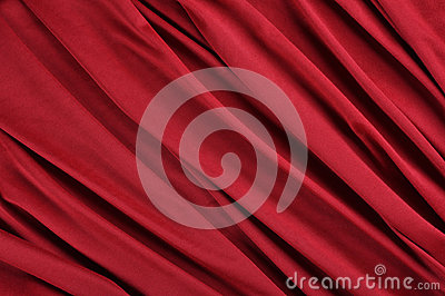 Rotes Satingewebe