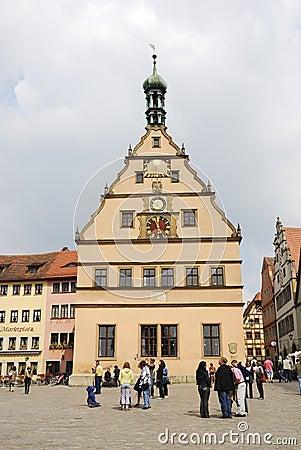 Rothenburg Editorial Stock Image