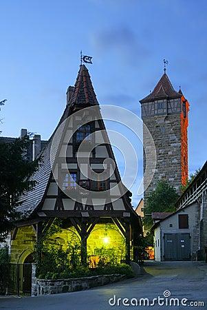Rothenburg in Bavaria, Germany