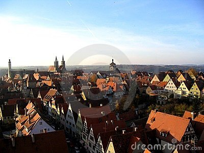 Rothenburg City View