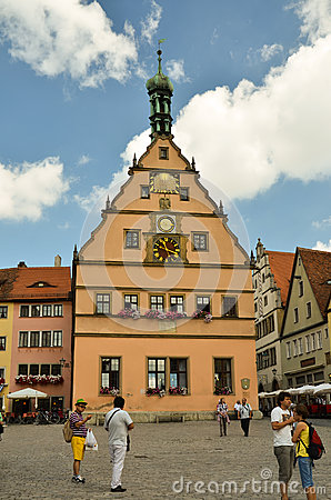 Rothenburg ob der Tauber 1 Editorial Photo
