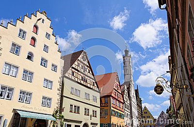 Rothenburg ob der Tauber, Germany Editorial Image