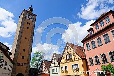 Rothenburg ob der Tauber, Germany Editorial Image