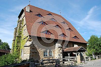 Rothenburg ob der Tauber - the Rossmuehle