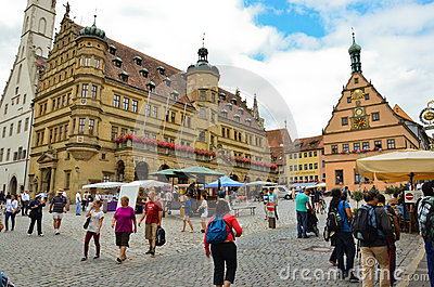 Rothenburg ob der Tauber2 Editorial Photography