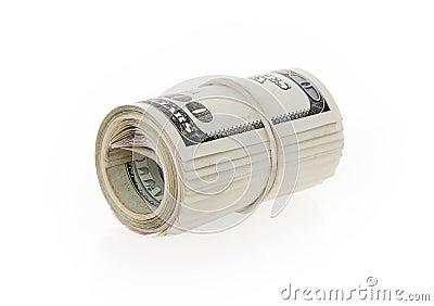 Rotolo dei soldi