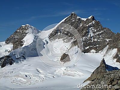 Rottalhorn and jungfrau