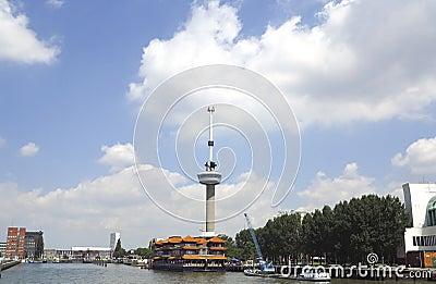 Rotterdam with Euromast