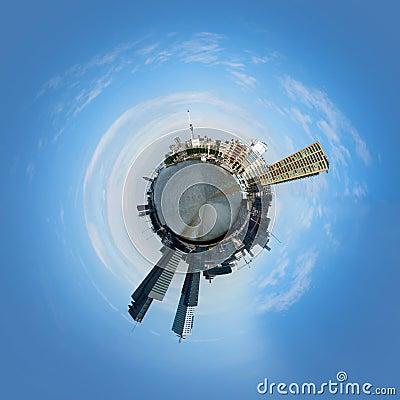 Rotterdam globe