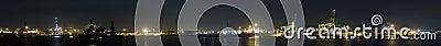 Rotterdam Harbor Panorama