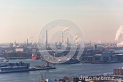 Rotterdam Industrial area