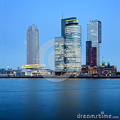 Rotterdam Skyscrapers